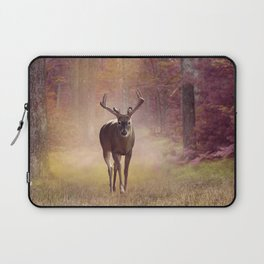Male Deer in autumn forest Laptop Sleeve