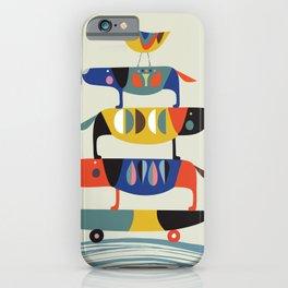 Skate dog iPhone Case