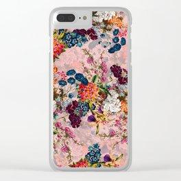 Summer Botanical Garden VIII - II Clear iPhone Case
