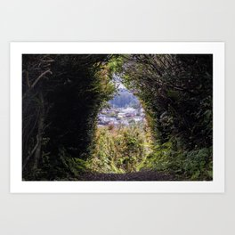 Looking out towards Trinidad Art Print