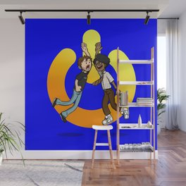 The Power of Friendship Wall Mural