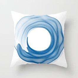 rund 3 - calm ocean Throw Pillow
