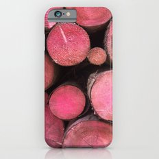 pink woods iPhone 6s Slim Case