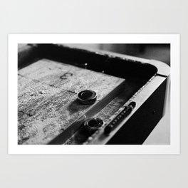 Shuffling the Time Away Art Print