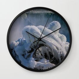 icicle curve Wall Clock