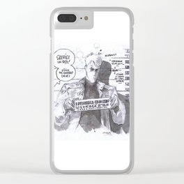 Join the rank, they'd cry! Clear iPhone Case