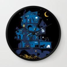 Wizard's Castle Wall Clock