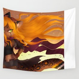 Shiny Hair Wall Tapestry