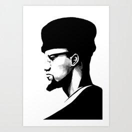 Malik El-Shabazz Art Print