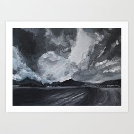 Norwegian Sky Art Print
