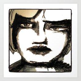 Portrait 142 Art Print