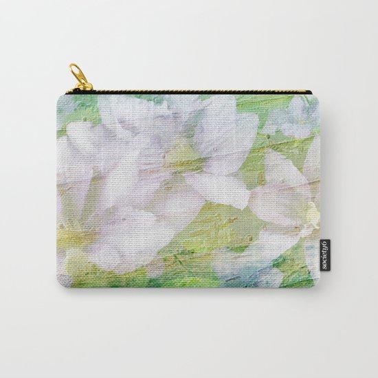 Vintage Soft Pastel Floral Carry-All Pouch