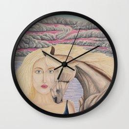 L'amour mêlé Wall Clock