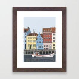 Nyhavn, Copenhagen Framed Art Print