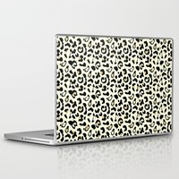 leopard Laptop & iPad Skins featuring Leopard by Laura Maria Designs