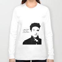 elvis Long Sleeve T-shirts featuring Elvis by heyokawolf