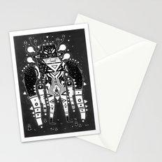 muscle jerk Stationery Cards