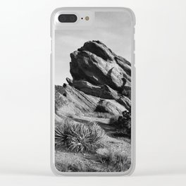 Vasquez Rocks Clear iPhone Case