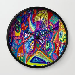 """""""Hotel You Know Where"""" Wall Clock"""