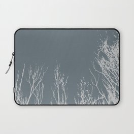 Silhouettes of Black Trees Laptop Sleeve
