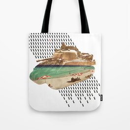 Beach Head Tote Bag