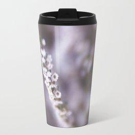 The Smallest White Flowers 02 Travel Mug