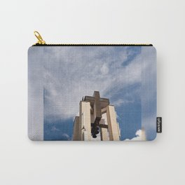 High church turret cross symbol Carry-All Pouch