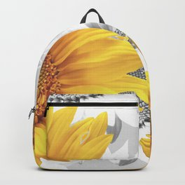 Sunflower Bouquet #decor #society6 #buyart Backpack