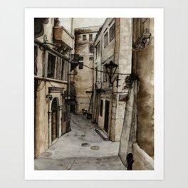 Chania  Fagotto Art Print