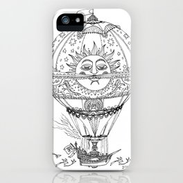 El Globo Sol iPhone Case