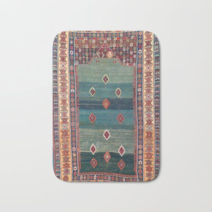 Sivas Antique Turkish Niche Kilim Print Badematte