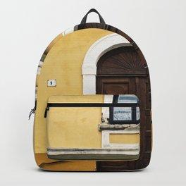 Special Edition Yellow/Orange Baja Facade Backpack