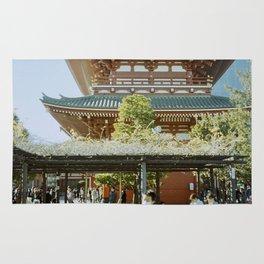 Sensō-ji Temple Tokyo Japan Rug