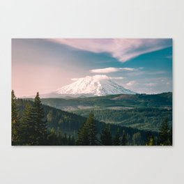 Saints and Sinners - 126/365 Nature Photography Mount St. Helens Canvas Print