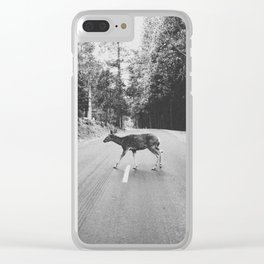 CROSSING / Yosemite Valley, CA Clear iPhone Case