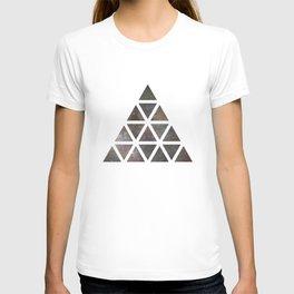 Galaxy Triangular Multicolor T-shirt