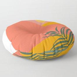 Tropical Landscape Floor Pillow