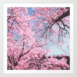 High Park Bloom Art Print