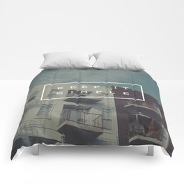 Keep It Simple Comforters