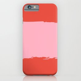 Crimson Swatch iPhone Case