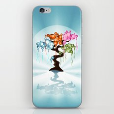 The Four Seasons Bubble Tree iPhone & iPod Skin