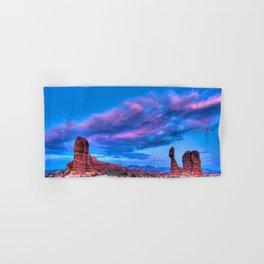 """Balanced Sunset"" Hand & Bath Towel"
