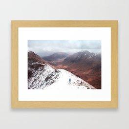 Snow Land Framed Art Print