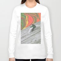 rasta Long Sleeve T-shirts featuring Rasta Corner by Calepotts