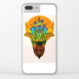 buffalo Clear iPhone Case