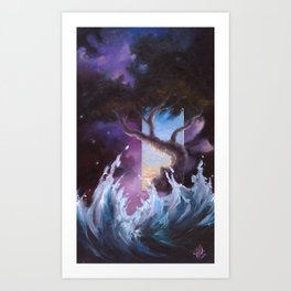 Dimention V Art Print