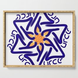 Hanukkah Star of David Serving Tray