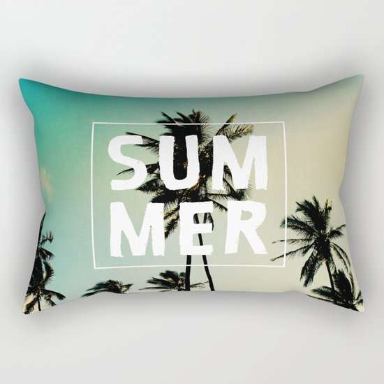 summer Rectangular Pillow