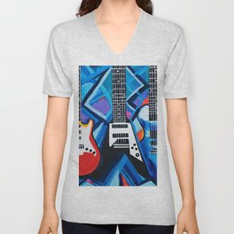 Guitar Trio Unisex V-Neck