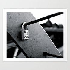 Love Locks 2012 16 Art Print